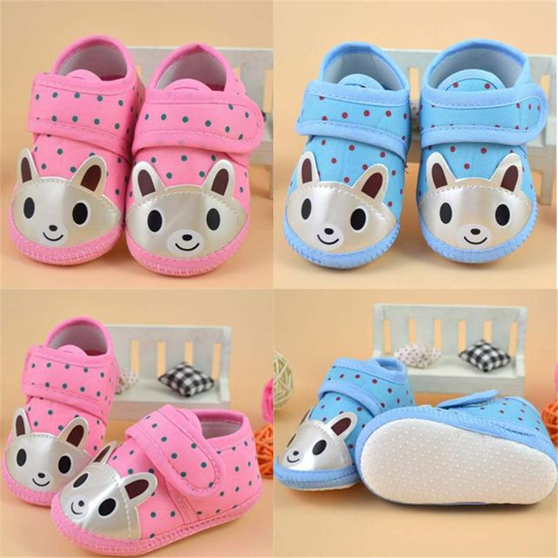 Newborn Girl Boy First Walker Soft Sole Crib Toddler Shoes Canvas Sneaker NDA84L16 (13)