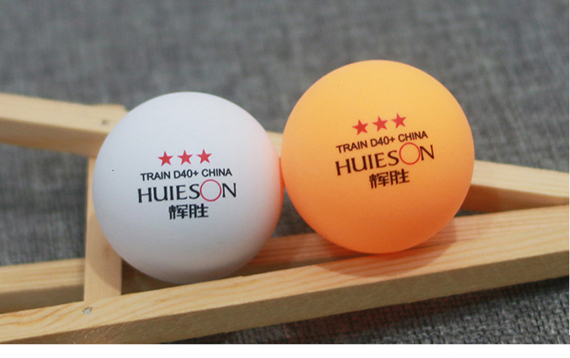 Huieson 100 Pcs 3-Star 40mm 2.8g Table Tennis Balls Ping Pong Balls for Match New Material ABS Plastic Table Training Balls (1)