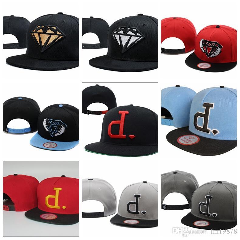 Diamond Supply Co Mens DMND Snapback Hat-One Size
