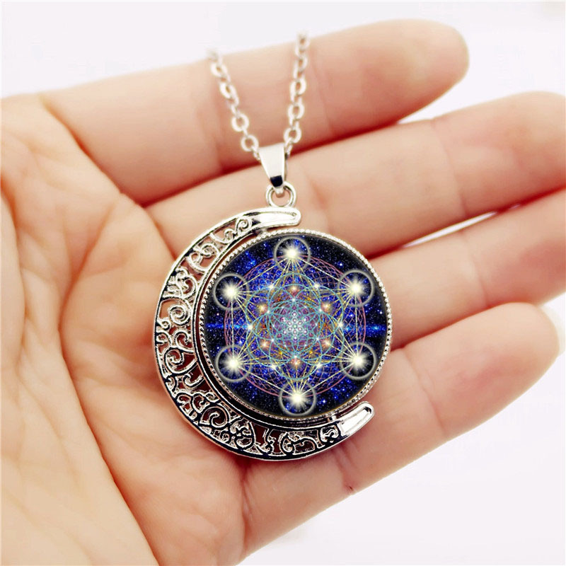 2019 Sacred Geometry Hexagonal Star Necklace Love Charm Party Brand  Designer Fine Jewelry Sets Female Necklaces For Female From Lzh1, $1 74  