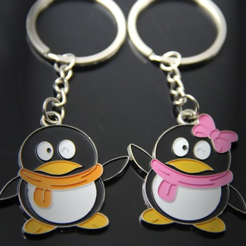 Clothes Shoes Accessories Key Chain Qq Penguin Scarf Rhinestone Crystal Fashion Car Ring Purse Charm Keyrings Duyas Com Tr
