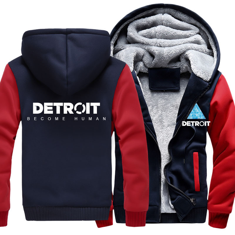 COYOUNG-Brand-US-Size-MEN-Hoodies-Print-Detroit-Become-Human-Zipper-Sweatshirts-Winter-Hoodies-Thicken-Jacket