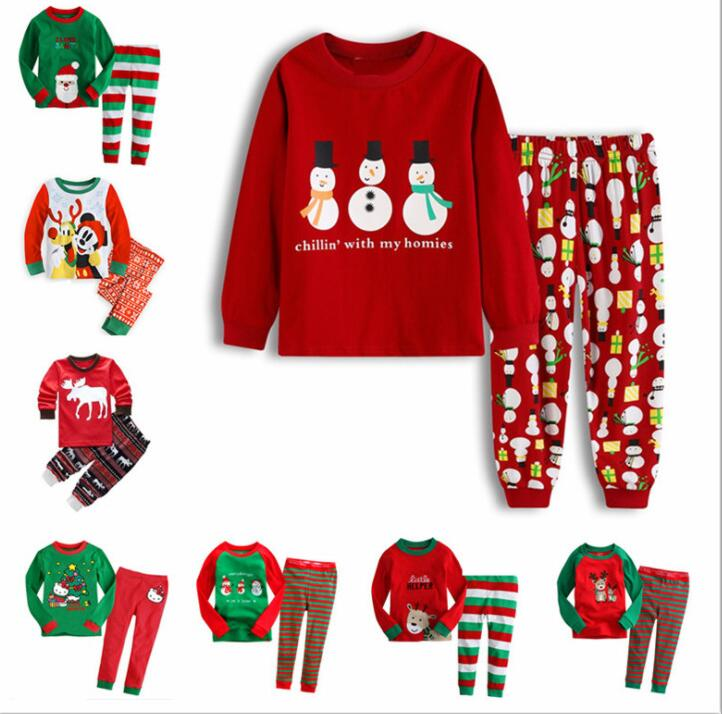 Baby Girls Christmas Theme Santa Applique Blue Tops and Solid Legging Set