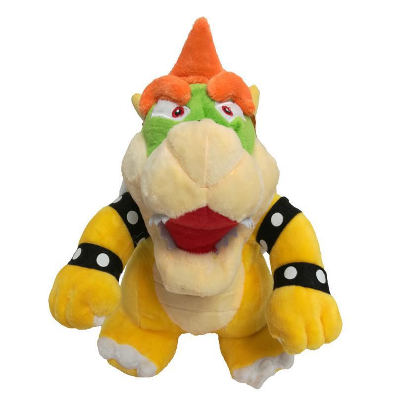 7-12/'/' Super Mario Bone Fire Dragon Kuba Dolls Soft Stuffed Plush Kids Gift Toy