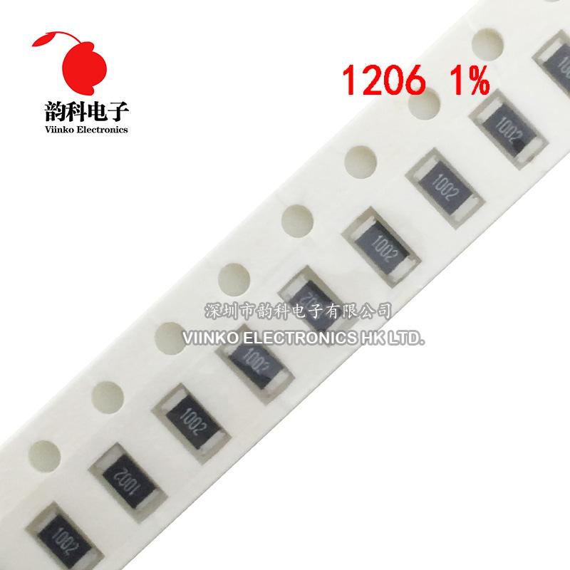 1000 pieces SMD 1//4W 7.5ohm 1/% Current Sense Resistors