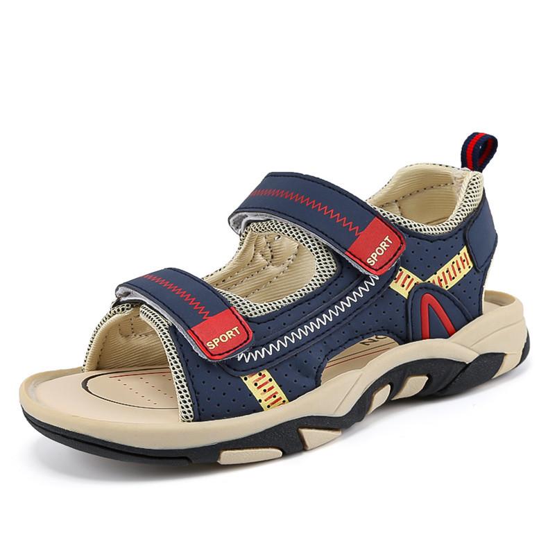 2020 Summer Boys Sandals Kid Sandals Children Shoes Cut-outs Rubber School Shoes Breathable Open Toe Casual Boy Sandal (8)