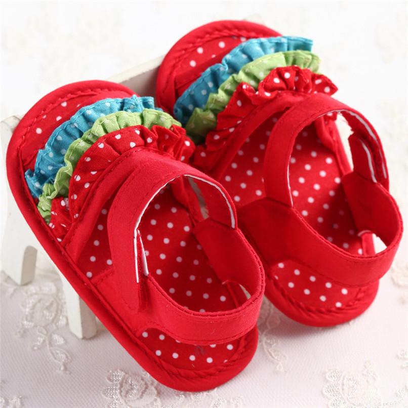 Summer Baby Girl Sandals Toddler Newborn Baby Girl Crib Flower Soft Sole Anti-slip Sneakers Canvas Sandals NDA84L25 (6)