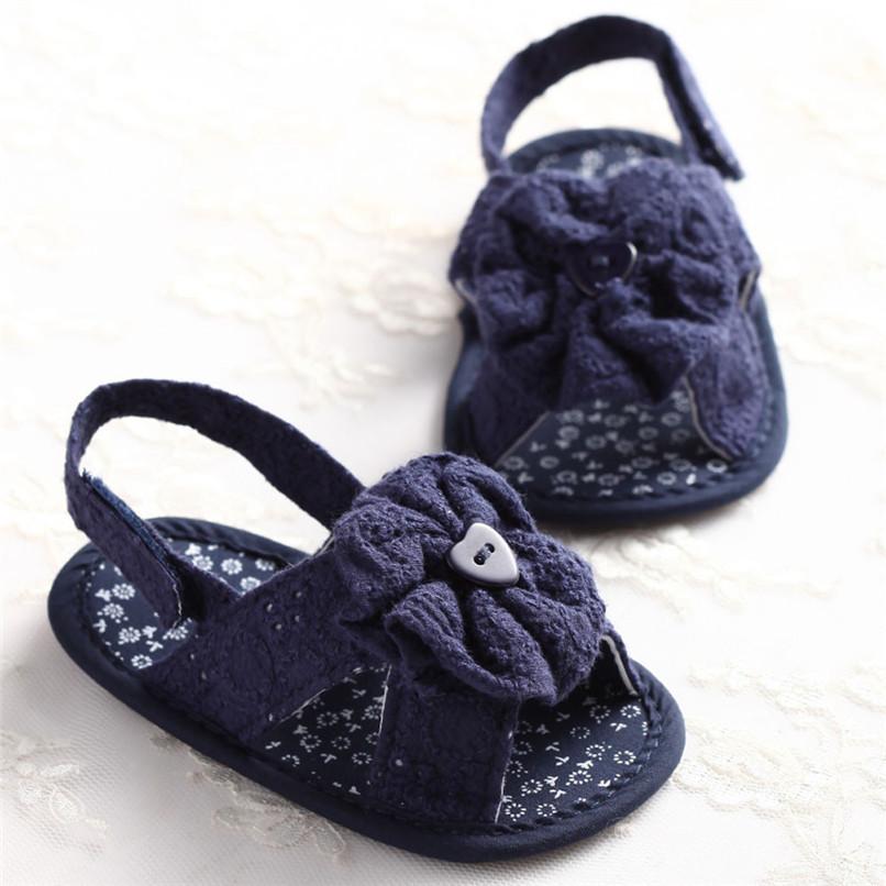 Summer Baby Girl Sandals Toddler Baby Flower Princess Cotton Fabric Sandals Girls Kid Shoes NDA84L25 (13)