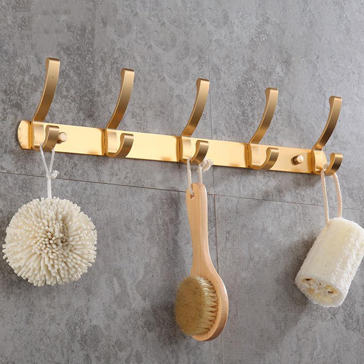 sombrero y bolsa para decoraci/ón de pared decoraci/ón de dormitorio LifeBest 8 ganchos redondos para colgar ropa sin clavos toallero bufanda