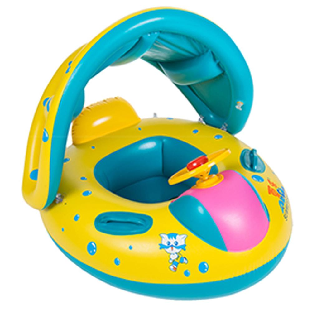 Baby BB Float Boat Swim Ring Float Inflatables Adjustable Safety Aids 2-5 Yrs UK