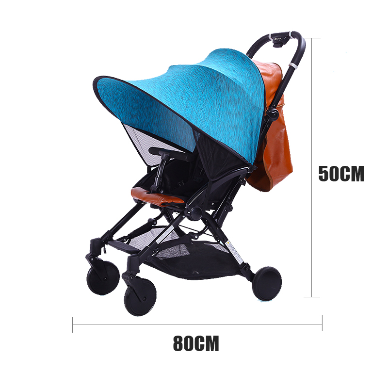 Kinderwagen UV Schutz Markise Windschutzscheibe Sonnenschutz Abdeckung