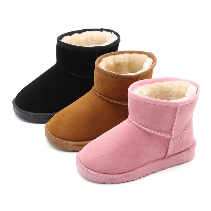 Vovotrade Newborn Toddler Boys Girls Shoes Cartoon Soft Sole Boots Casual Sneakers