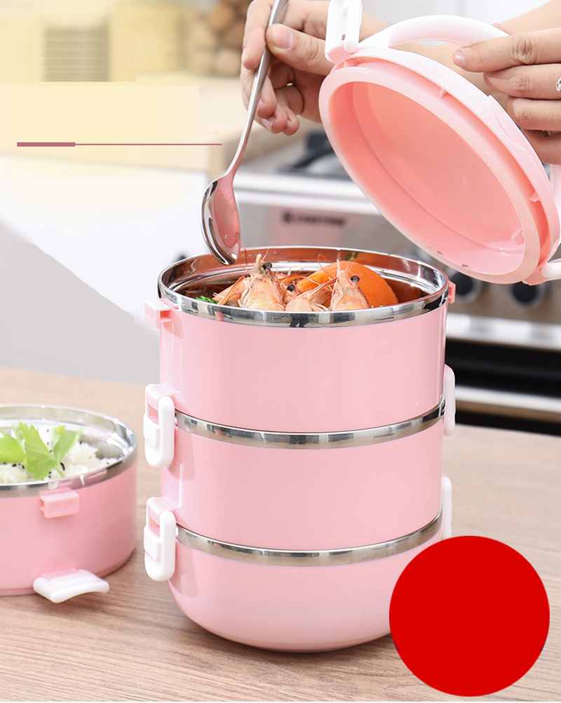 304 stainless steel multi-layer insulated lunch box 25