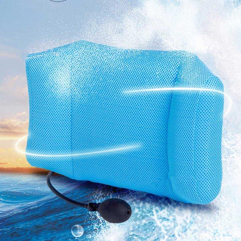 Car Seat Chair Back Massage Space Memory Foam Lumbar Support Waist Cushion Mesh Ventilate Cushion Pad Car Styling Accessories SH190713