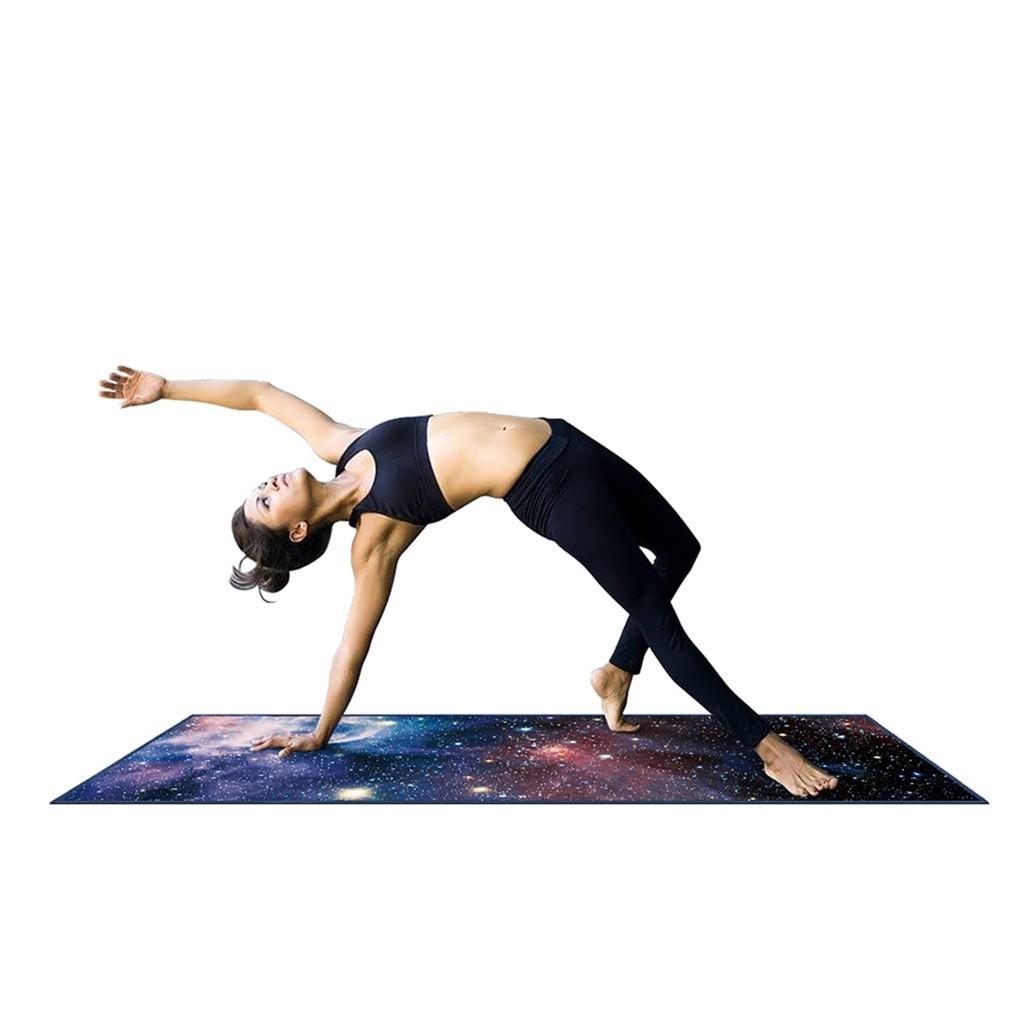 Extra épais Yoga Fitness Exercice Tapis Et Yoga Sangle Antidérapant en Mousse Gym Entraînement