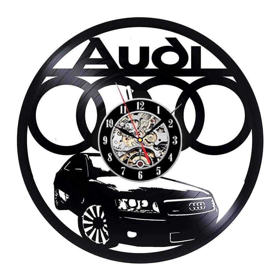 BMW VINYL Horloge Murale Vinyle nouvelle meilleure qualité Design unique VOITURE MOTORSPORT