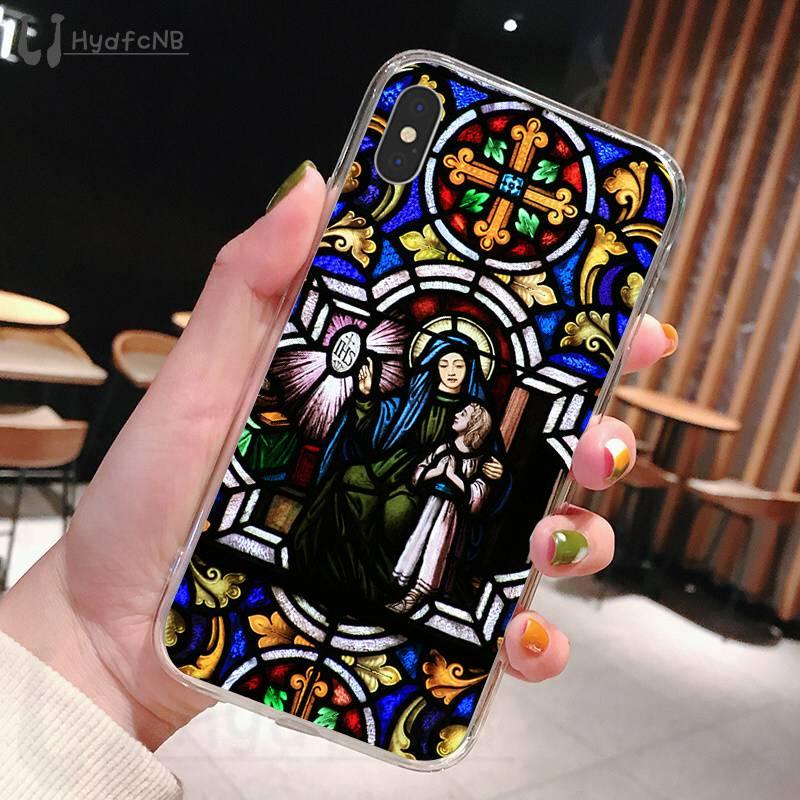 Angel Church Jesus Stained Glass Window