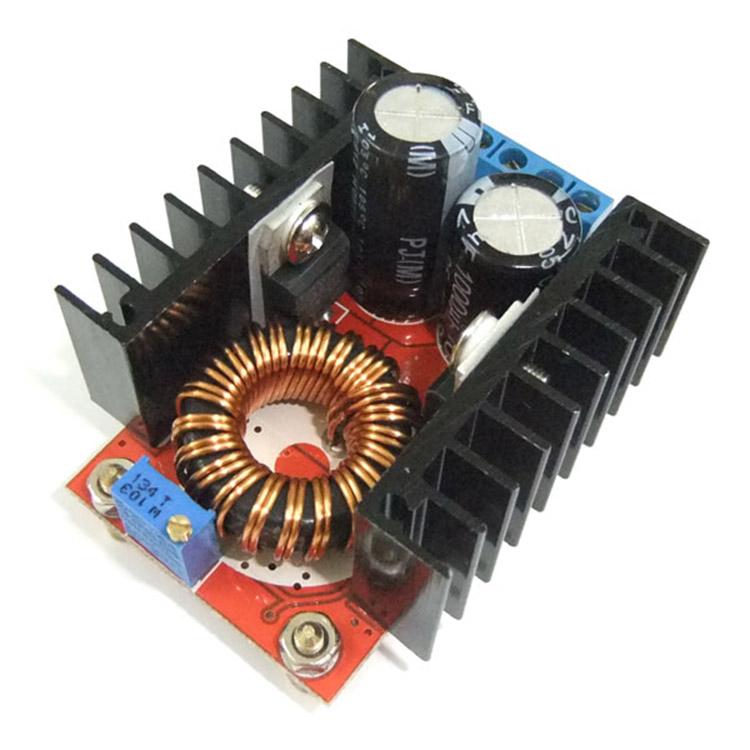 DC-DC Módulo de refuerzo ajustable 10V-32V a 60V-97V Batería portátil para automóvil Banco de potencia 100W