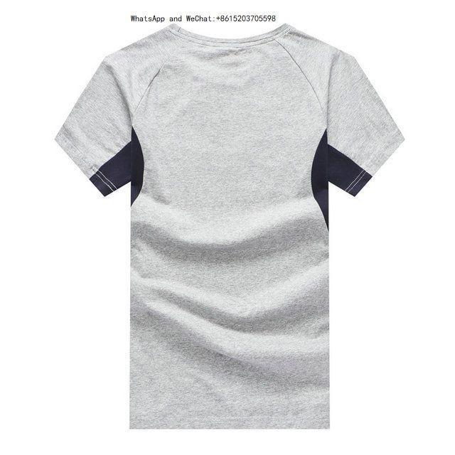 Sommer Mode Gezeiten Belüftung Und Schweiß T-shirt t shirts Für Männer Mann Kurzarm Version Baumwolle Männliche t-shirts marken