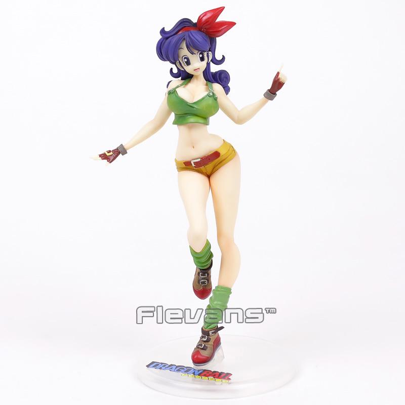 Venta al por mayor Bola Z Gals Android NO.18 Bulma Lunchi Videl Chichi Sexy PVC figura de colección modelo de juguete