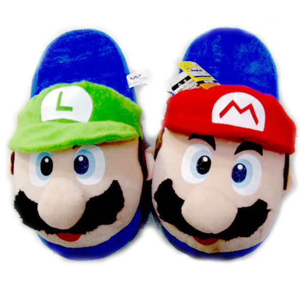 1Red Green Cartoon Animal Women / men Couples Home Slipper para interiores House Bedroom Flats Cómodos zapatos de invierno cálidos