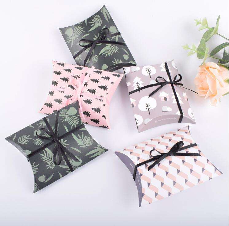 Wedding Favour Favor Bag Sweet Cake Gift Candy Wrap Paper Boxes Bags Anniversary Party Birthday Baby Shower Presents Box