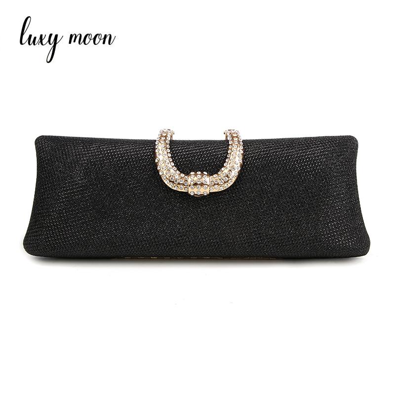 Stunning Sparkle Diamante Clutch Bag Wedding Bridal Evening Handbag Purse