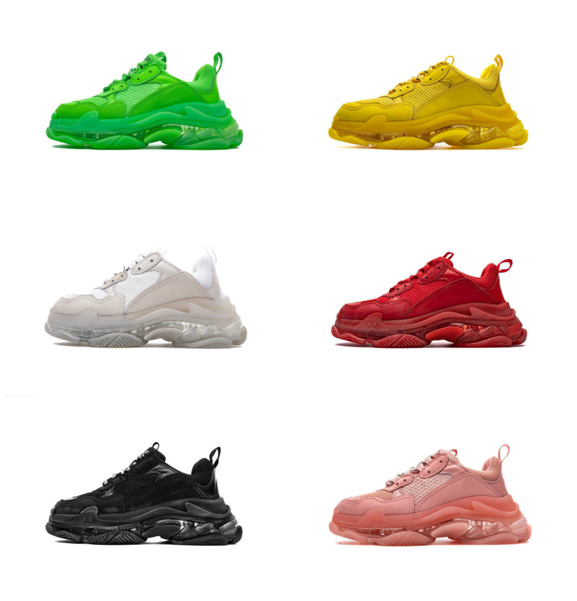 Mujeres Muy Calientes 2019 semana de la moda de parís de alta calidad zapato de exhibición zapatillas de deporte de moda muy calientes zapatos casuales unisex zapatos
