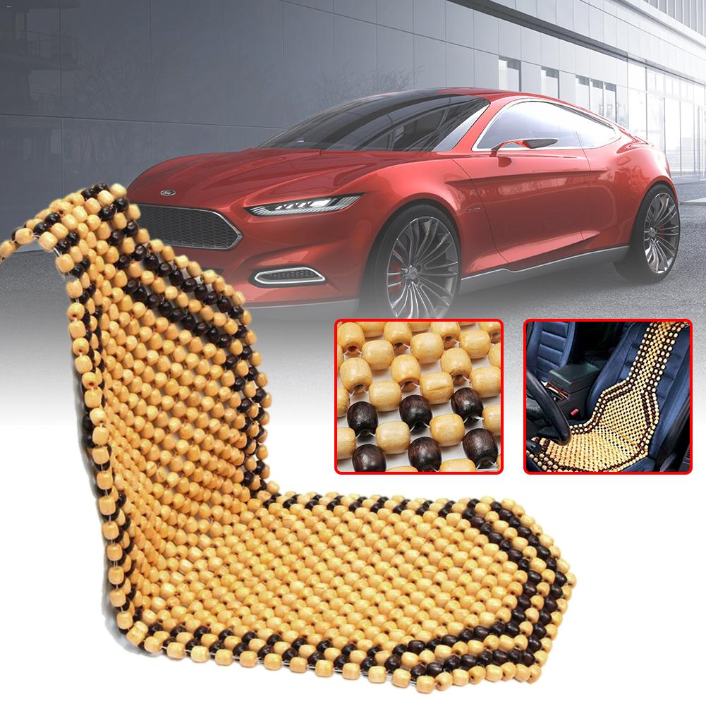 Natural Refreshing Bamboo Massage Seat Cover Cool Cushion For Auto Car Office UK