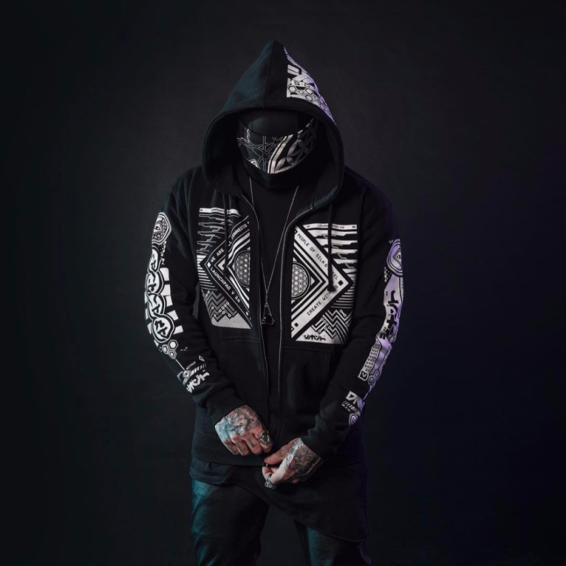 Men Hoodie Sweatshirt Tracksuit Jacket (8)