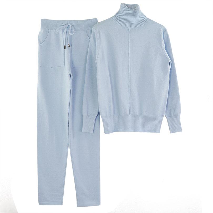 lined knit suit COLOR (5)