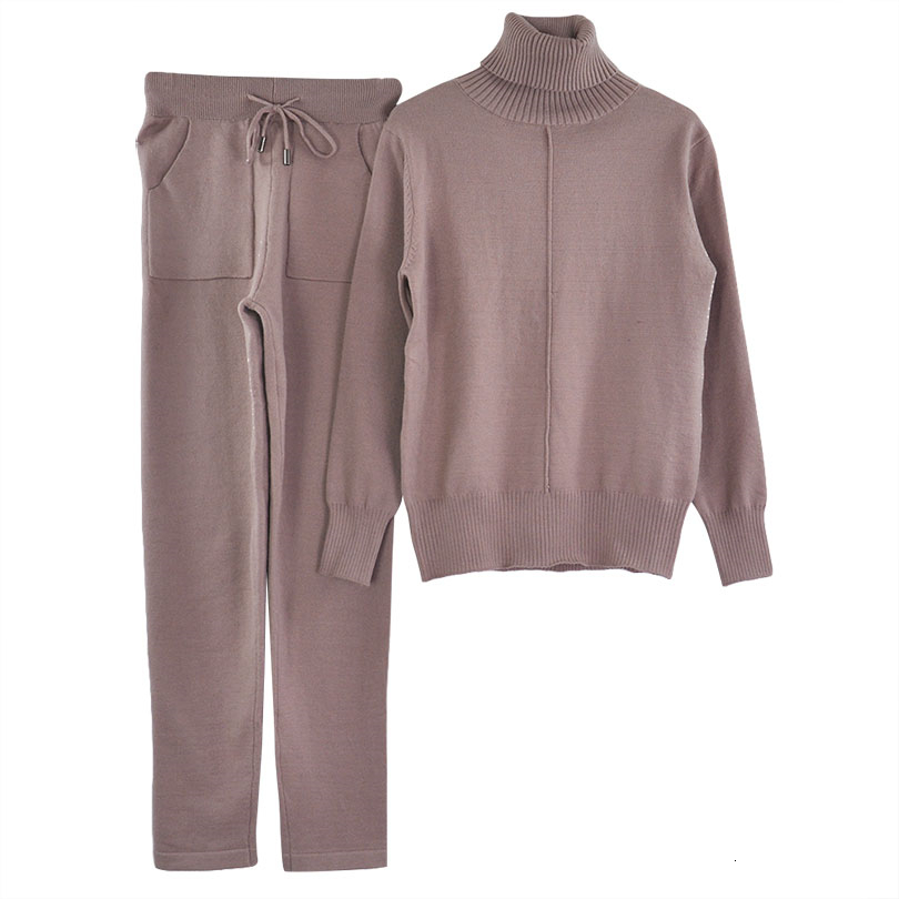 lined knit suit COLOR (4)