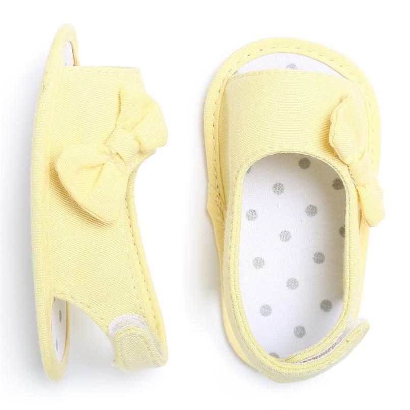 Summer Baby Shoes Newborn Toddler Baby Girl Soft Sole Bowknot First Walker Crib Prewalker Shoes NDA84L24 (20)