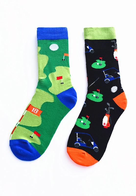 Watermelon Orange Fruit Dress Athletic Stockings Calf Support Soccer Socks