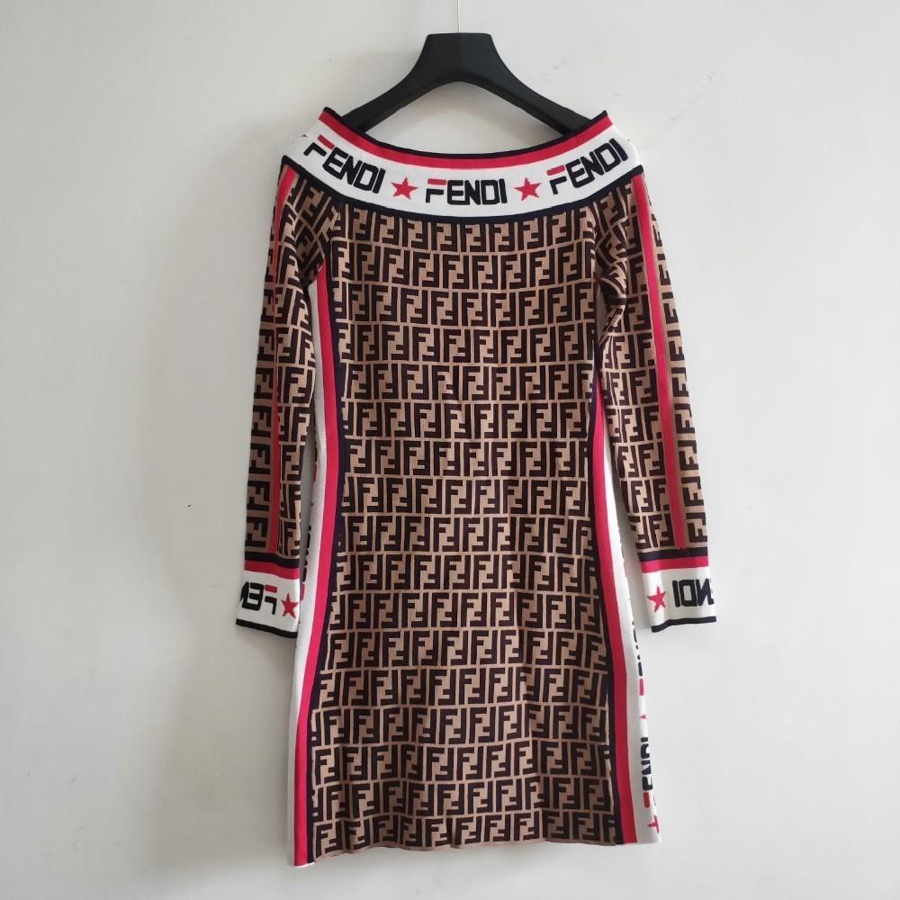 Kadın Uzun Kol Elbise Patlama İnce kesit Yüksek kaliteli kavisli boncuk kumaş Elastikiyet Üst vücut konforu
