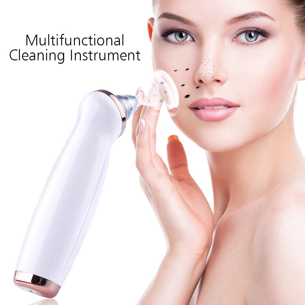 Mitesser Entferner Hautpflege Poren Vakuum Akne Pickel Entfernung Vakuum Saugwerkzeug Facial Diamond Dermabrasion Machine Face Clean