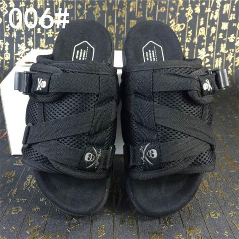 New Brand Visvim Slippers Fashion Shoes Man And Women Lovers Casual Shoes Slippers Beach Sandals Outdoor Slippers Hip-hop Street Sandals