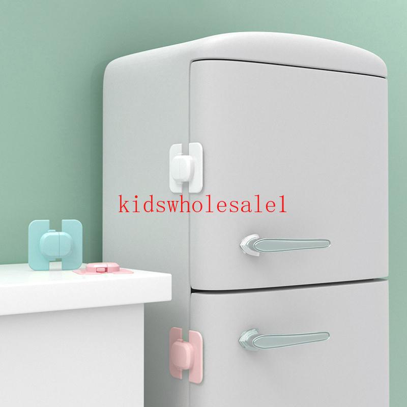 5 Stk Schubladenschrank Kabinett Schranktür Kühlschrank Sicherheitsschloss Blau