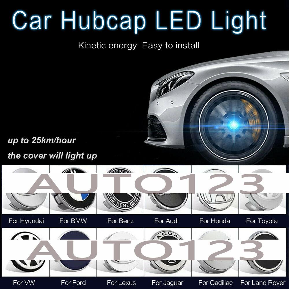 4x Hyundai Wheel Centre Cap Hub Set New Style 3D Logo Cap Black//Silver 60mm