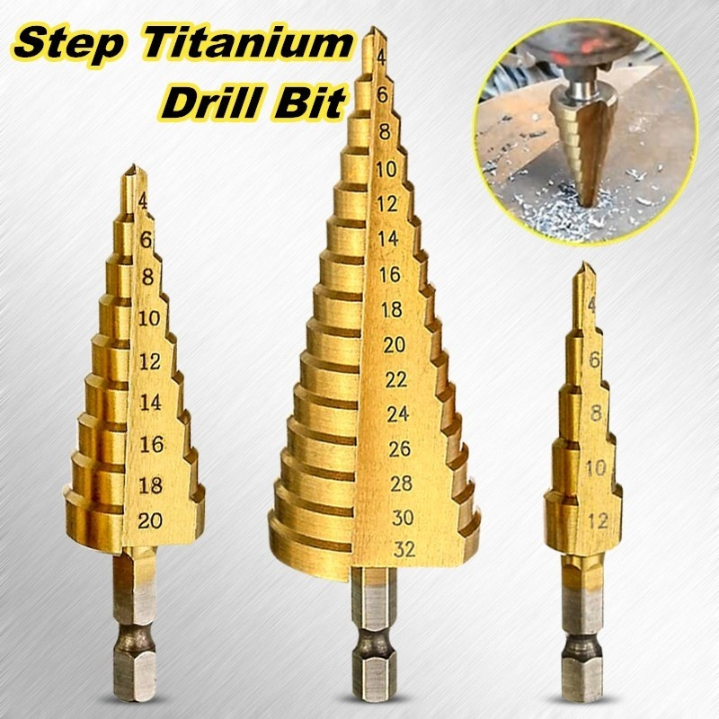 1PC double tête de coupe feuille Nibbler Hole Saw Cutter perceuse outil Tackle METAL