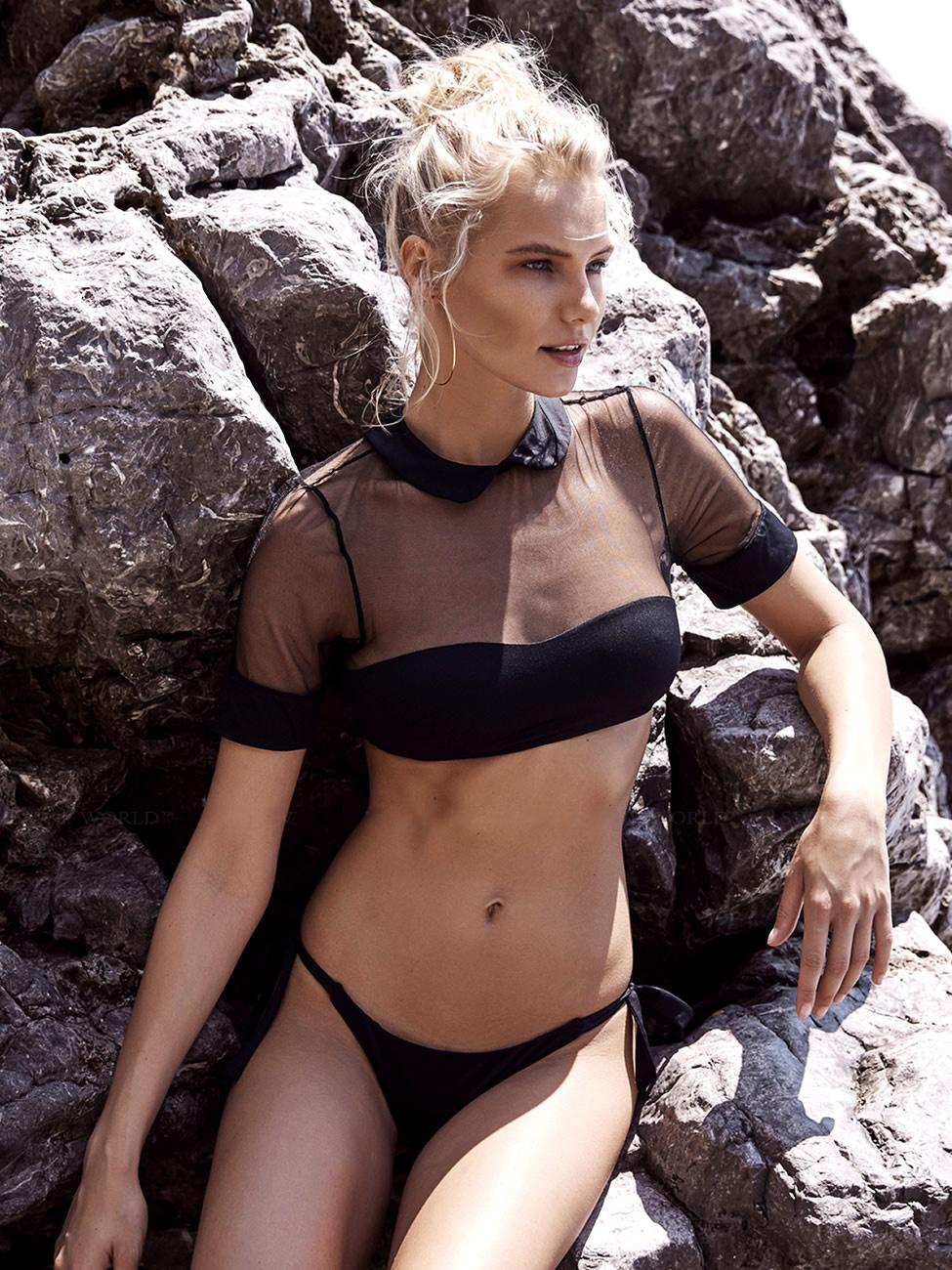 bikini push up brazilian bikini set 2019 Mesh swimsuit women solid halter top bathing suit summer female swimwear