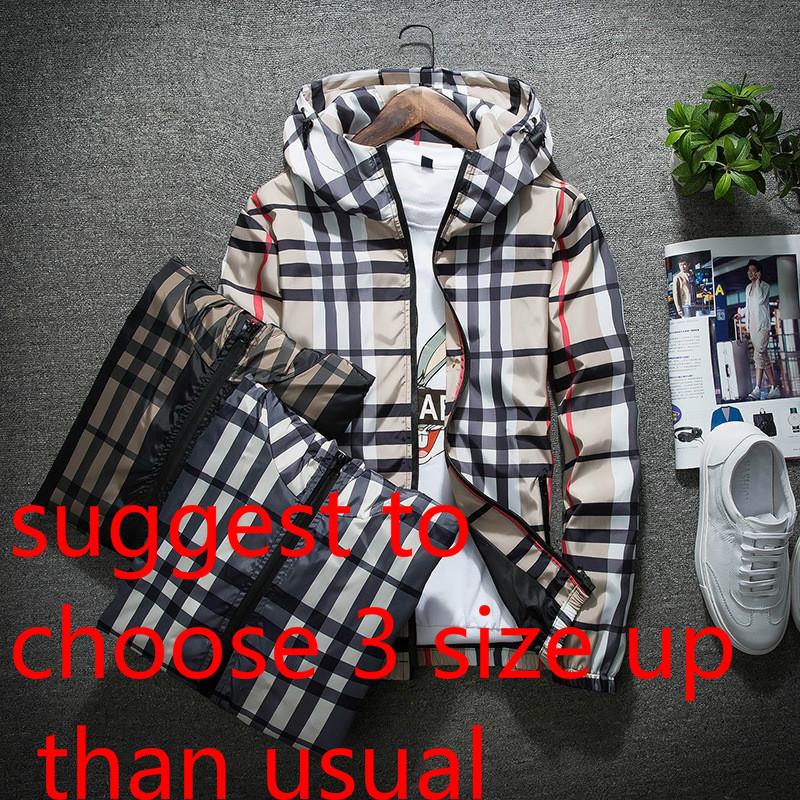 Tartan-Pink-Plaid Mens Hoodie Novelty Fashion Warm Sweatshirt 3D Slim Zip Jacket with Pocket