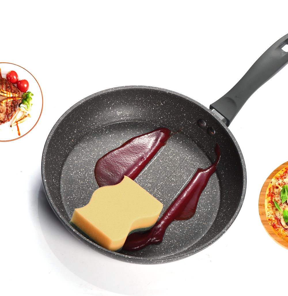 20&26 inch Non-stick Copper Frying Pan with Ceramic Coating and Induction cooking,Oven & Dishwasher safe CJ191227