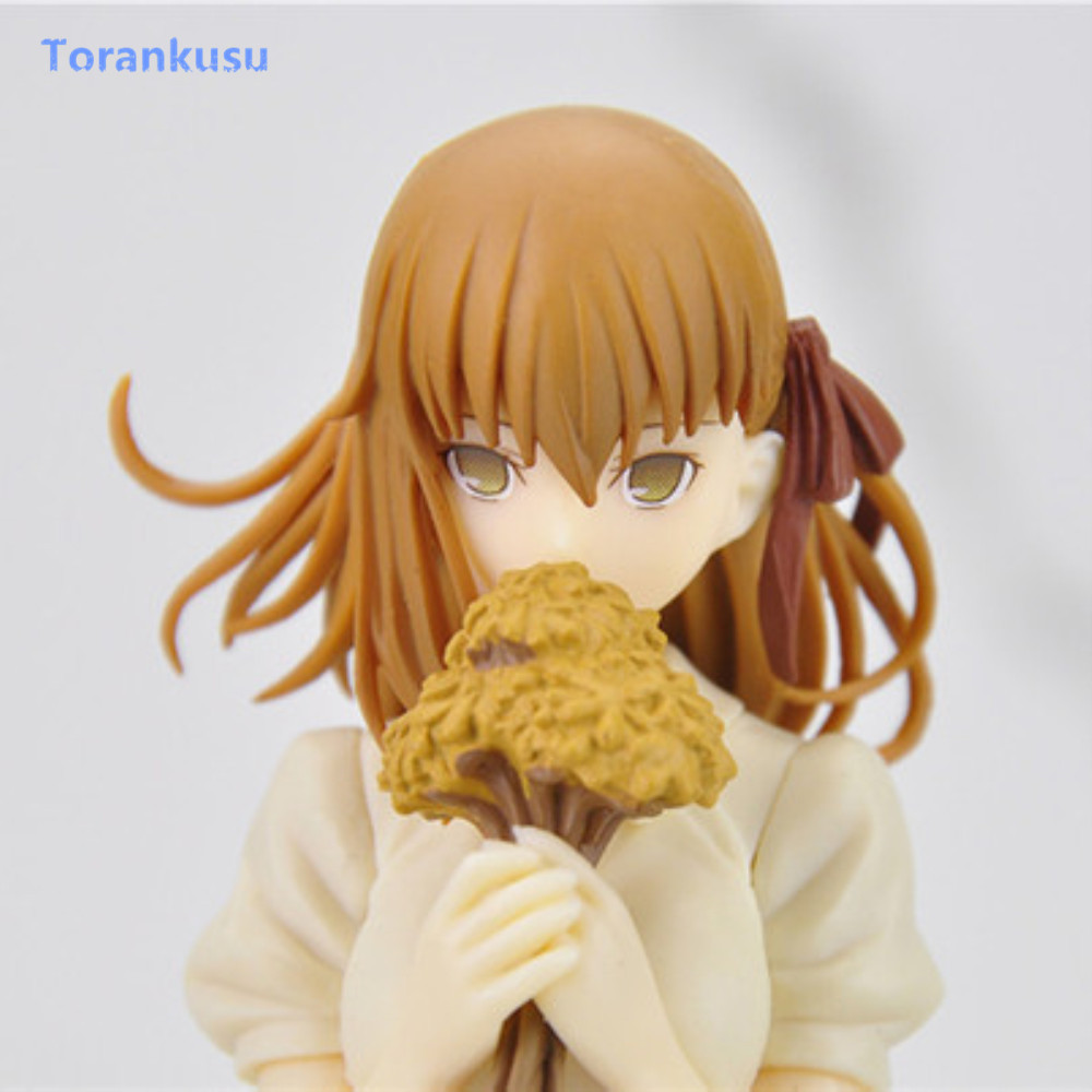 Fate Stay Night Figure Figure d'action Matou Sakura à collectionner Robe brune blanche Ver. Figurine PVC Poupée Jouets Pour Enfants Cadeau