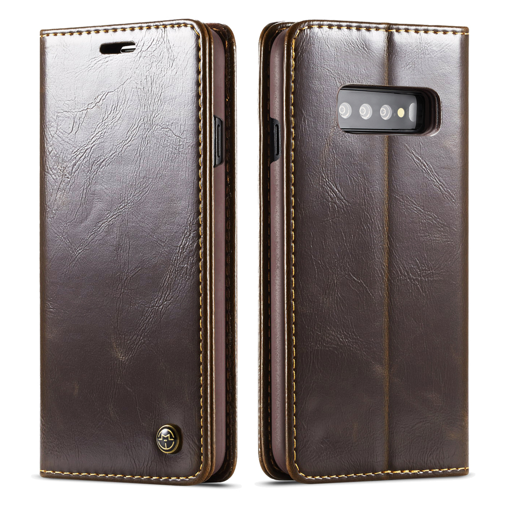 Magnetic Flip Leather Case For Samsung S10e S10 Plus S9 S8 Case Card Wallet Cover For Samsung Galaxy S10 Lite A7 2018 Phone Case