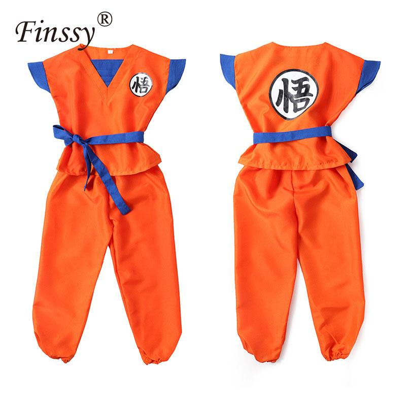 Dragon Ball Z Son Goku KungFu Hip Hop Baby Body Party Cosplay costume Robe
