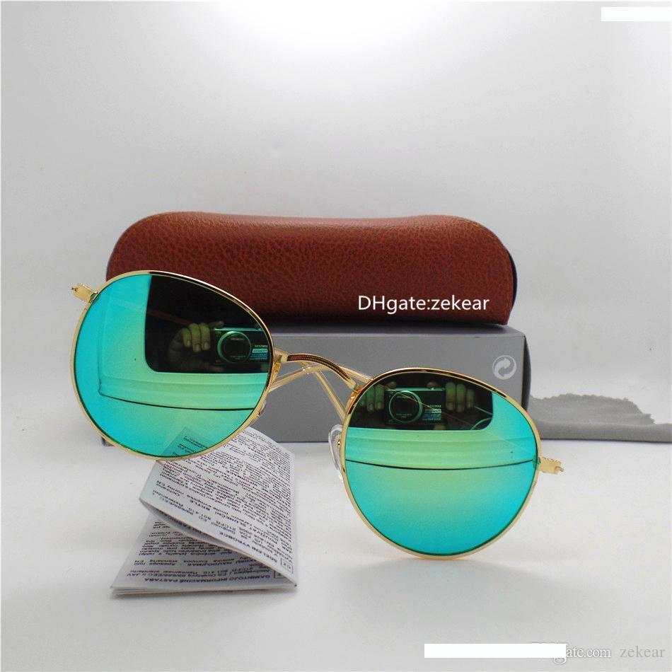 Tendenza Per Il Tempo Libero Moda Vintage Retro Unisex UV400 Occhiali Per Piloti Driving Sunglasses Sconto Primavera Estate