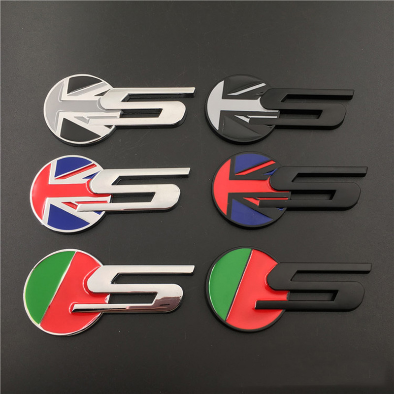 2 Corvette Cross Crossed Flags Chevy 3D Emblem Logo Badge Decal Chrome Red