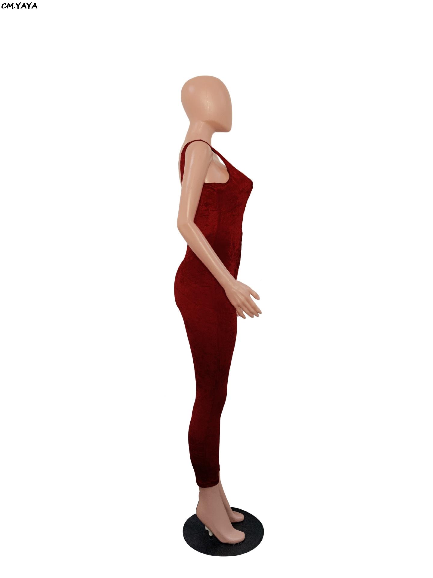 новые женщины бархат рукавов вырезать сексуальный тощий длинный комбинезон bodycon ночной клуб комбинезон Комбинезон 2 цвета 6186
