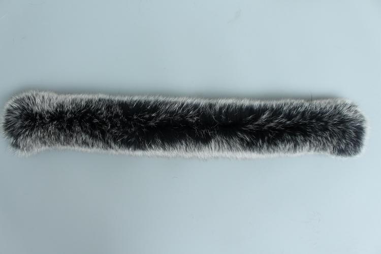 natural real raccoon fur hoody trim collar (10)
